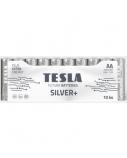 Baterija Tesla AA Silver+ Alkaline LR06 2600 mAh 10 vnt.