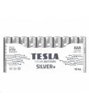 Baterija Tesla AAA Silver+ Alkaline LR03 1150 mAh 10 vnt.