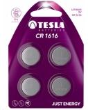 Baterija Tesla CR1616 Lithium 45 mAh 4 vnt.