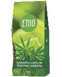 ETNO Kanapių lapų ir žiedynų arbata 40g