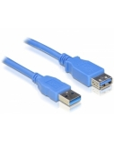 DELOCK Cable USB 3.0 ExtensionA/A 2m m/f