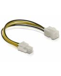 DELOCK Power cable P4 male/female