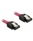DELOCK Cable SATA 6 Gb/s 50cm straight