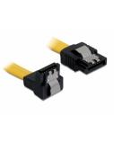 DELOCK Cable SATA 6Gb/s 30cm do/st metal