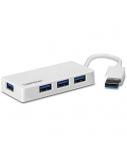 TRENDNET 4-port High Speed USB 3.0 Mini