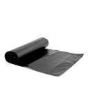 Šiukšlių maišai, 60l/10vnt, LDPE, 20 mikr., juodi  2005-023