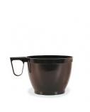 Vienkartiniai puodeliai, 180 ml, su rankenėle, 50 vnt., rudos spalvos (50)  2101-017