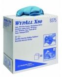 Pramoninės šluostės Kimberly-Clark WYPALL, 42.6x23cm, mėlynos spalvos (80)  2001-005
