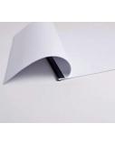 Įrišimo aplankas RELIDO, A4, 3-6 mm, baltas (20 vnt.)  0508-201