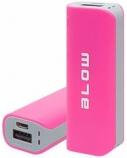 Įkroviklis nešiojamas BLOW Power Bank 4000mAh 1xUSB PB11 rožinis  1715-032