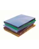 Įrišimo viršeliai Prestige, A4, 0.20 mm, skaidrūs, mėlyni (100 vnt.)  0508-018
