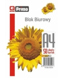 Bloknotas, plėšomas, Primo, A4/50, langeliais  0723-102