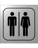 Informacinė lentelė 1.21 Bendras tualetas