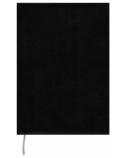 Darbo knyga-kalendorius FUTURA VIP Spirex 2021, A4, PU, juodas