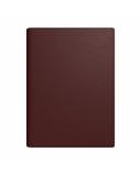 Darbo knyga-kalendorius FUTURA VIP Spirex 2021, A4, PU, tamsiai ruda