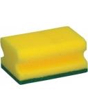 Kempinė su žaliu abrazyvu ECO60, 7x10 cm, 6vnt.