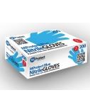 Vienkartinės nitrilo pirštinės be pudros MProtect, mėlynos, S dydis, 200vnt