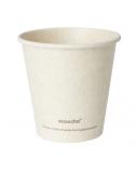 Duni vienkartiniai Ecoecho™ puodeliai kavai (tinkamas 182535), Bagasse, natūralios spalvos, 180 ml, max +100°C, (50 vnt x 16 vnt.)