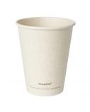 Duni vienkartiniai Ecoecho™ puodeliai kavai (tinkamas 182535), Bagasse, natūralios spalvos, 240 ml, max +100°C, (50 vnt x 16 vnt.)