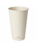 Duni vienkartiniai Ecoecho™ puodeliai kavai (tinkamas 182536), 470 ml, natūralios spalvos, Bagasse, max +100°C, (36 vnt x 25vnt.)
