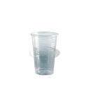 Vienkartinės stiklinės PP 200ml, skaidraus plastiko, (100vnt x 30 vnt.)