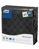 Stalo servetelės Tork Premium NexxStyle, 38x39cm, juodos, 2sl.