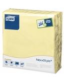 Stalo servetelės Tork Premium NexxStyle, 38x39cm, šampaninės spalvos, 2sl.