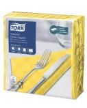 Stalo servetelės Tork Premium NexxStyle, 38x39cm, geltonos, 2sl.
