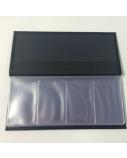 Vizitinių kortelių dėklas odinis (160),08/033 KV, juodas  1615-060