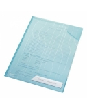 Aplankas L Leitz Combifile, A4, mėlynas, plastikinis  0812-204