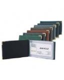 Albumas vizitinėms kortelėms Biurfol (20), juodas, 7x11cm  1007-035