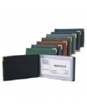 Albumas vizitinėms kortelėms Biurfol (20), rudas, 7x11cm  1007-038