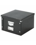 Archyvinė dėžė Leitz, 216x282x160mm, A5, juoda, nuimamas dangtis  0830-209