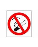 Lipdukinis ženklas Draudžiama rūkyti, ø 150mm  0616-004