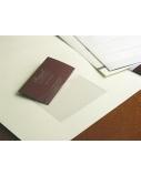Lipni kišenė vizitinėms, 55x90 mm, skaidri (10)  0825-006