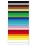 Kartonas, A1, 180 g, geltonas, dvipusis, (1)  0708-104
