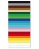 Kartonas, A1, 180 g, oranžinis, dvipusis, (1)  0708-105