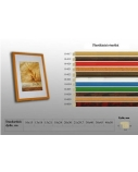 Rėmelis A5, 15 x 21 cm, plastikinis, įvairių spalvų  0615-005