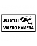 Lipdukas Jus stebi vaizdo kamera ZNLA12-1-70X130