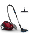 Philips Performer Silent Vacuum cleaner with bag FC8781/09 Allergy filter 66 dB for quiet vacuuming 12m radius