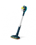 Philips SpeedPro Cordless Stick vacuum cleaner FC6727/01 180° suction nozzle 21.6V, up to 40 min 2-in-1: vacuum & handheld Mini turbo brush
