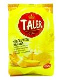 Traškučiai Taler bananų skonio, 20 pak. po 135 g