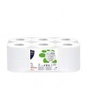 """Tualetinis popierius Papernet""""MINI JUMBO"""" Biotech, 407574,  12vnt. (pakuotėje 1 vnt.)"""