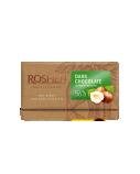 Juodasis šokoladas 56% su skaldytais lazdyno riešutais Roshen, 22 pak. po 90g .)