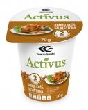 """Greitai paruošiama grikių košė su vištiena """"Activus"""" indelyje, 16 pak. po 70g"""