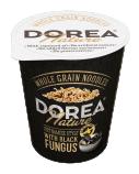 """Greitai paruošiami pilno grudo makaronai su grybais """"Dorea pho"""" indelyje, 8 pak. po 63g"""