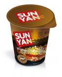 """Greitai paruošiami makaronai jautienos skonio """"Sun yan"""" indelyje, 16 pak. po 65g"""