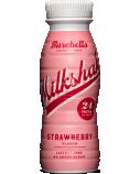 """Braškių skonio proteininis pieno kokteilis """"Barebells"""", 8 pak. po 330g"""