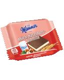 """Vafliai su lazdynų riešutų ir pieninio kremo įdaru """"Manner"""", 30 pak. po 25g"""