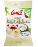 """Balto šokolado dražė su romu ir kokosu """"Casali"""", 18 pak. po 100g"""